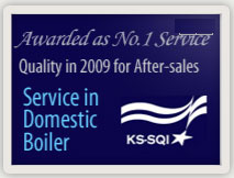 No.1 Service Quality in 2009 for After-Sales